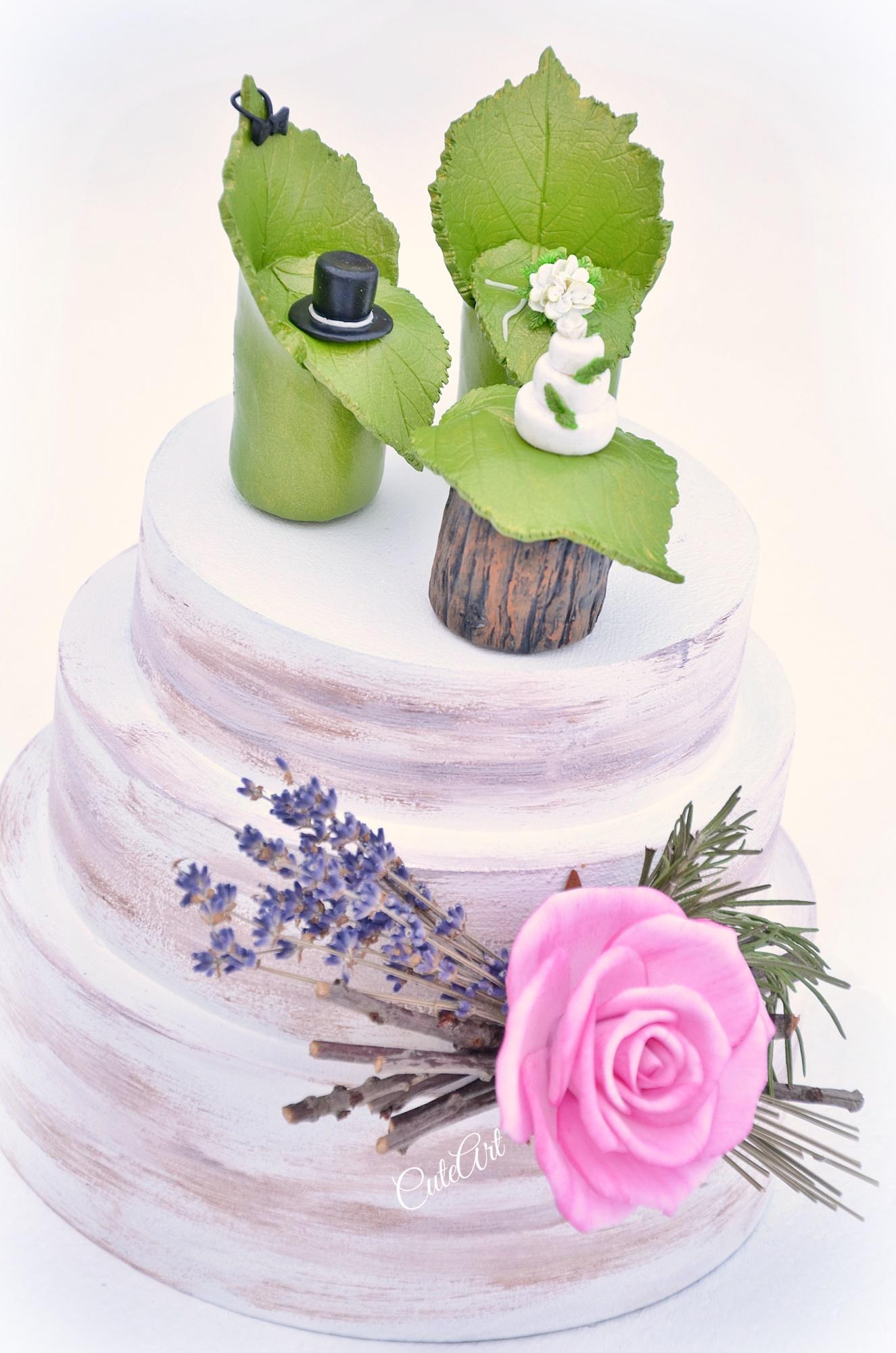 Svadba v prírode - figúrky na svadobnú tortu - CuteArt.sk - Daruj ... a281482e8cf